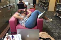 Slapen in het openbaar