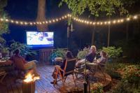 bioscoop in eigen tuin