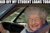 studieschuld afbetaald