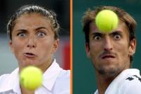 gezichtsuitdrukking tennisbal