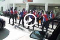 flashmob tankstation