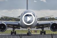 vliegtuig nooduitgang