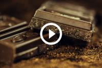 Weg in Duitsland ligt onder chocolade