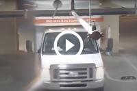 verhuiswagen parkeergarage