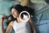 vrouwen in slaap praten